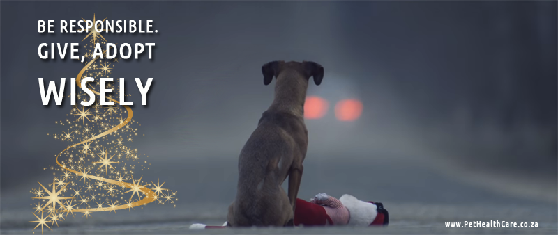 Be responsible pet owner adopt wisely. pets do not make good gifts
