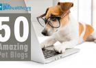 top 50 pet blogs, best pet blogs, best animal writers,