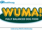WUMA pet food logo south african welfare